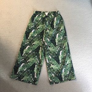 Tropical Culotte Pants 🌴